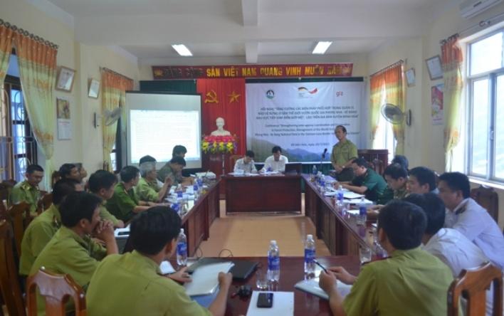 Tăng cường các biện pháp phối hợp quản lý khu vực tiếp giáp biên giới Việt-Lào trên địa bàn...